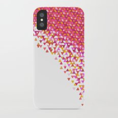 Rose Gold Funfetti Storm Slim Case iPhone X
