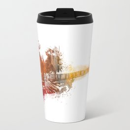 Bass Guitar Travel Mug