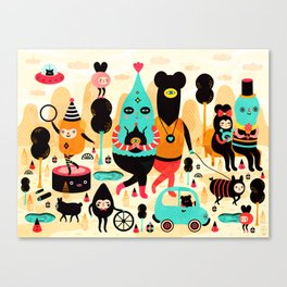 Sunday! Canvas Print
