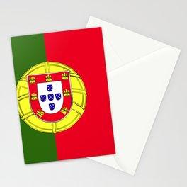 Portugal flag emblem Stationery Cards
