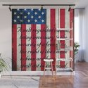 2nd Amendment on American Flag - Vertical Print by molonlabecreations