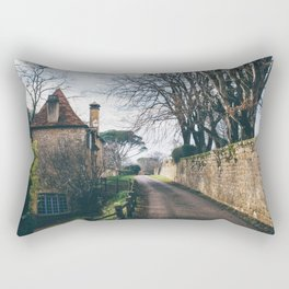 Streets of Domme, France Rectangular Pillow
