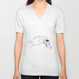 Heavy Petting Unisex V-Neck