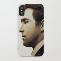 lee pace iPhone & iPod Cases featuring Lee Pace by LindaMarieAnson