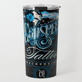 Godspeed Tattoo, Breckenridge, Colorado Travel Mug