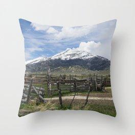 Mountain Country Throw Pillow