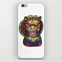 hippo iPhone & iPod Skins featuring Hippo. by Farkas