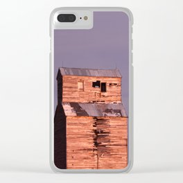 Comanche Sunset Clear iPhone Case