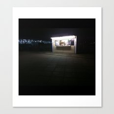 Popeye's (after Hopper) Canvas Print