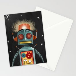 Toy Robot Stationery Cards
