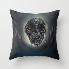 Valley of hairy death Throw Pillow