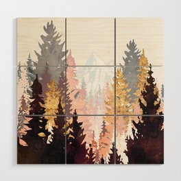 Wine Forest Wood Wall Art
