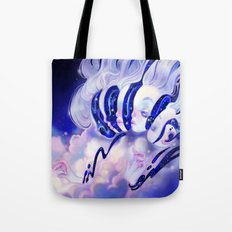 Moon Faces Tote Bag