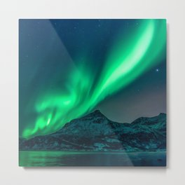 Aurora Borealis (Northern Lights) Metal Print