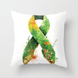 Nature Ribbon Throw Pillow