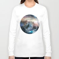 island Long Sleeve T-shirts featuring Island by Veronique Meignaud MTG