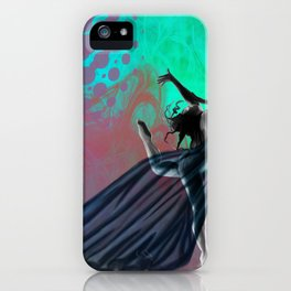 Flying Woman with veil  iPhone Case