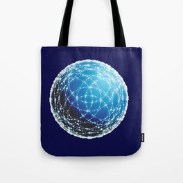 The Blue Orb Tote Bag