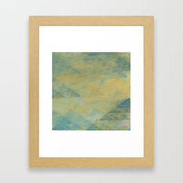 Abstract Fabric Designs 4 Duvet Covers & Pillows & MORE Framed Art Print