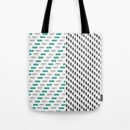SF Giants Pattern Tote Bag