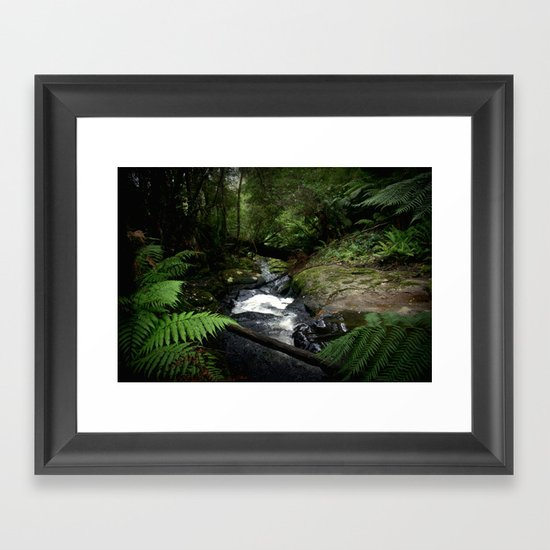 Inside the Otway Ranges Framed Art Print