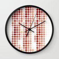 bacon Wall Clocks featuring Bacon by Triplea