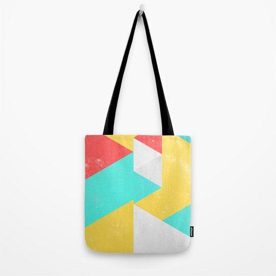 Triangle Pattern I Tote Bag