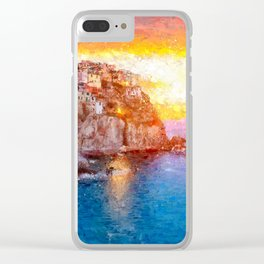 Artwork - Manarola Clear iPhone Case