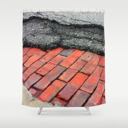Layers of Humanity Shower Curtain
