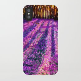 Purple Garden iPhone Case
