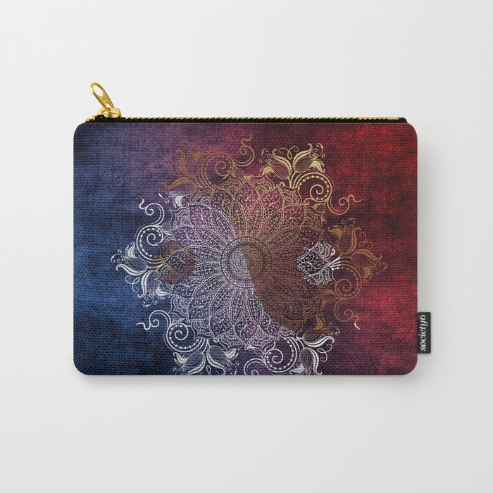Mandala - Fire & Ice, yang version Carry-All Pouch