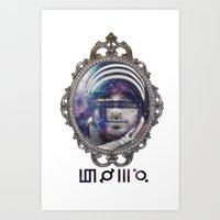 30 seconds to mars Art Prints featuring 30 Seconds To Mars by Andrea Valentina