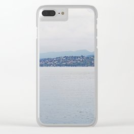 Lakes & Mountains Clear iPhone Case