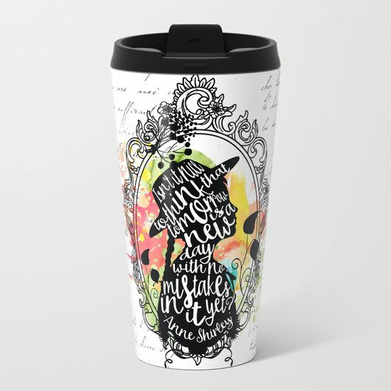 Anne Shirley - Tomorrow Metal Travel Mug