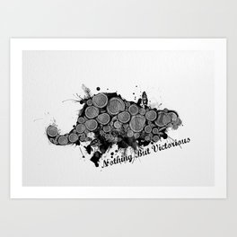 Nothing But Victorious Art Print