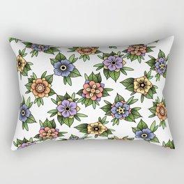 traditional flowers Rectangular Pillow