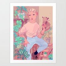 Kinkajou Art Print