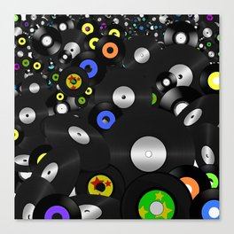 Forever Vinyl Canvas Print
