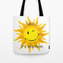 Infectious Smile Tote Bag