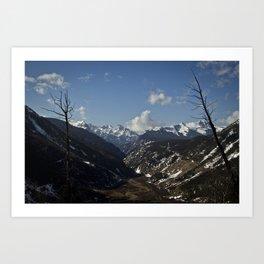 Silverton Valley - Colorado Art Print