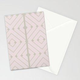 MONO:CHROMA Geometrica Earthy Pink II Stationery Cards