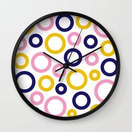 Froot Loops 01 Wall Clock