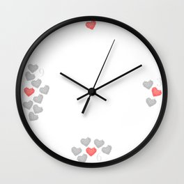 The Heart of Thorns Wall Clock