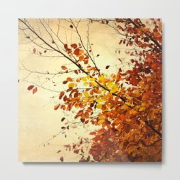 Autumn Whispers Metal Print