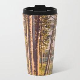 Retro Forest Travel Mug
