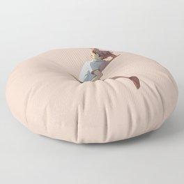 Oikawa jumping Floor Pillow