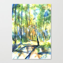 Scenes from the Forest II Canvas Print