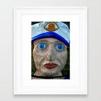 sailor Framed Art Prints featuring Sailor by Fine2art