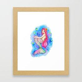 Ocean Galaxy Framed Art Print