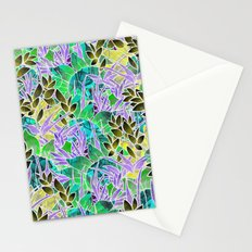 Floral Abstract Artwork G127 Stationery Cards